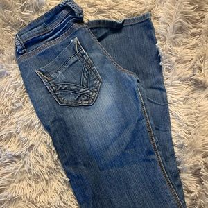 Machine Nouvelle Mode jeans from buckle.